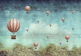 Air Balloons - Mint by Michelle decoupage