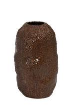 Vaas Odyssee keramiek bruin-rood