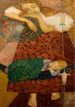 Sleep - Mint by Michelle decoupage