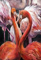 Flamingo - Mint by Michelle decoupage