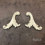 Pack of Two Decorative Plumes WUB1338