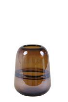 Vaas Ermida glas bruin