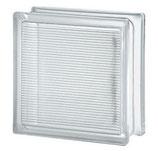 Solaris Glasbaustein lichtlenkend klar 19x19x8cm 10 Stück
