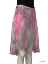 巻スカート二―レングス マーブル