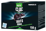 RATICIDE RAT PÂTE 25PPM 150GR