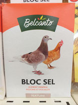 BLOC SEL NATURE BELCANTO 1KG