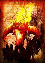 Black Jade/Uruk-Hai/Ringbearer/Onyx Split CD - Guardians of the Rings