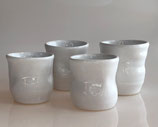 Small Cup Collection #4 - set of 4 small drinking cup