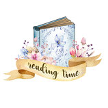 "Sticker ""Reading Time"""