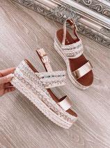 plateau sandalette 'ibiza flair'
