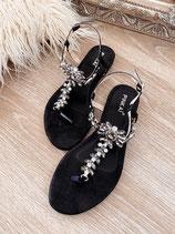 sandalette 'diamond black'