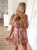 dress 'flowers rosé'
