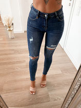 jeans 'highwaist darkblue'