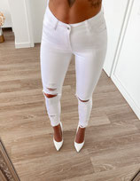 jeans 'destroyed white'