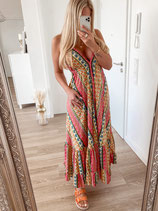 long dress 'ibiza feeling bunt'