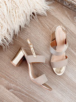 high heels 'goldie'