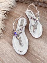 sandalette 'diamond silver'29