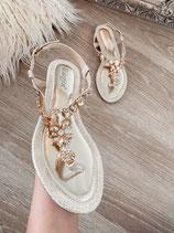 sandalette 'diamond gold'