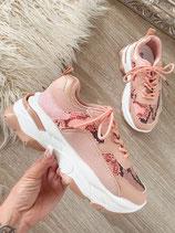 sneaker 'rose snake'