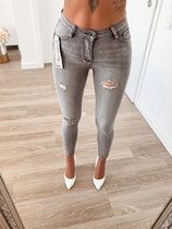 jeans 'push up grey'