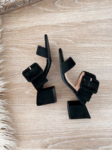 schläppchen high heels 'babes black'