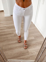 jeans 'high waist white'