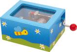 Spieluhr blau-grün (2454)