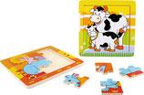 Rahmenpuzzle Tierfamilie 2-er Set (4227)