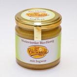 Bio-Honig mit Ingwer
