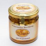 Bio-Honig mit Walnüssen - leider schon ausverkauft.