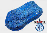 Sneaker Set - Bloods&Crips (blau)
