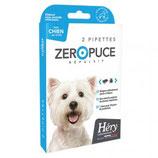 Zero puce répulsif petits chiens 2 pipettes Héry