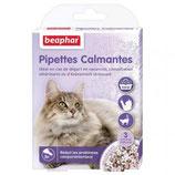 Pipettes calmantes à base de valériane pour chat