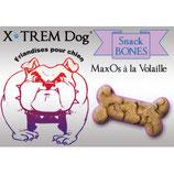 Friandises SNACK BONES - MaxOs à la volaille XTREM DOG