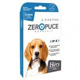 Zero puce répulsif chiens moyens 2 pipettes Héry