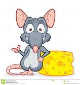 10 stk Ratte Baby Frost 4-10 gr.