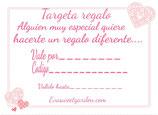 TARGETA REGALO