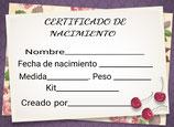 CERTIFICADO DE NACIMIENTO MOD.1