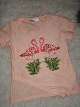 Flamingo Shirt (Zalm)