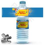 Big Top Water Bottle Label