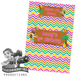 Hawaiian Chevron; Choc Wrapper