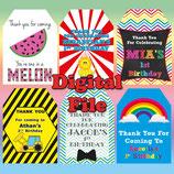 Little Prince Gift Tags  - DIGITAL PDF FILE