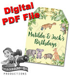 Aussie Animals Gift Tags  - DIGITAL PDF FILE
