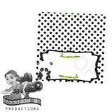Food Tent Cards  - Panda; DIGITAL PDF FILE