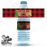 Lumberjack; Water Bottle Label