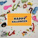 Halloween Chevron; Choc Wrapper