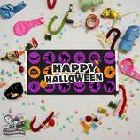 Halloween Pattern; Choc Wrapper