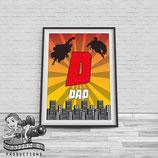 Super Dad, A4 Print