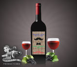 Father's Day Moustache; Wine Label