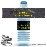 BMX & Skateboard Water Bottle Labels
